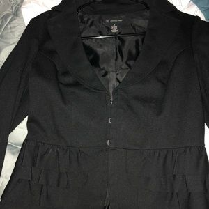INC black suit jacket size small